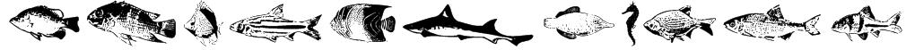 FishyPrint Two AOE  Font