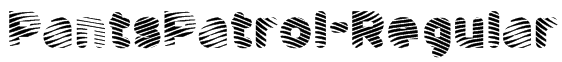 PantsPatrol-Regular Font