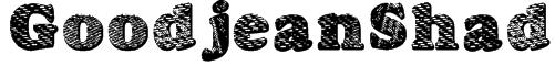 GoodjeanShad Font
