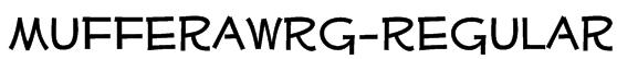 MufferawRg-Regular Font
