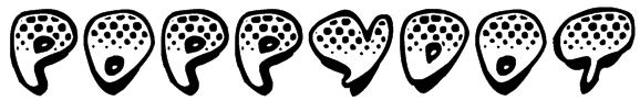 Poppydot Font