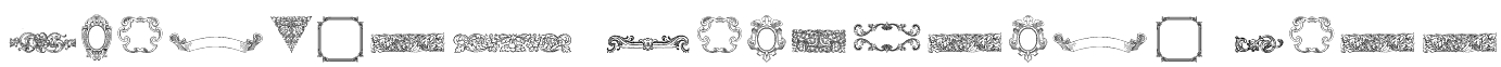 Mortised Ornaments Free Font