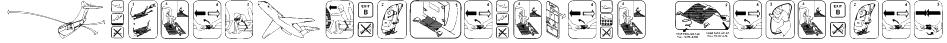 FastenYourSeatBelt Textured Font