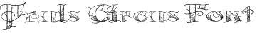 Pauls Circus Font Font