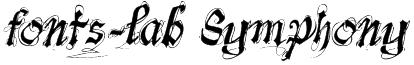 fonts-lab Symphony Font
