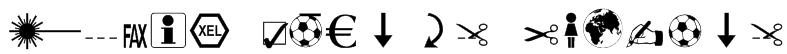 Martin Vogel's Symbols Font