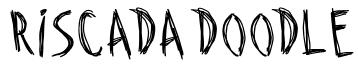 Riscada Doodle Font