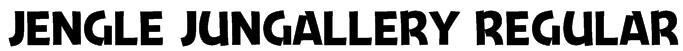 Jengle Jungallery Regular Font