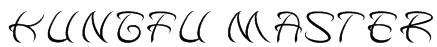 kungfu master Font