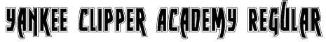 Yankee Clipper Academy Regular Font
