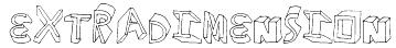 ExtraDimension Font