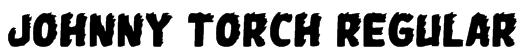 Johnny Torch Regular Font