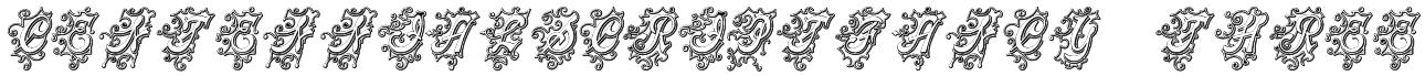 CentennialScriptFancy Three Font