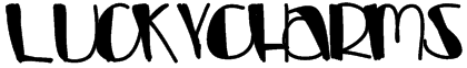 LuckyCharms Font