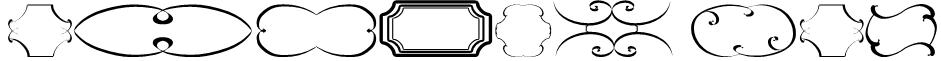 frames tfb Font