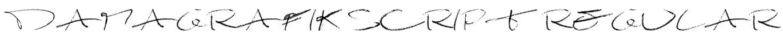 Damagrafik Script Regular Font