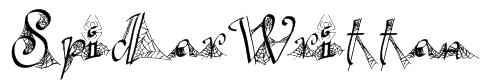 SpiderWritten Font
