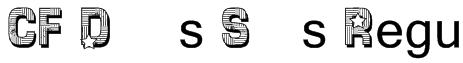 CF Dallas Stars Regular Font