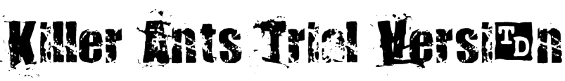 Killer Ants Trial Version Font