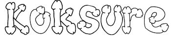 Koksure Font