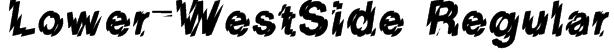 Lower-WestSide Regular Font