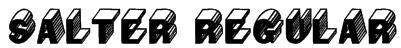 Salter Regular Font