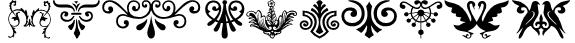 Ornamental Decoration II Font