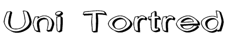 Uni Tortred Font