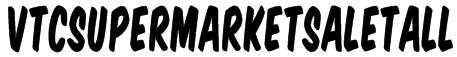 VTCSuperMarketSaleTall Font