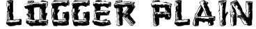 Logger (Plain):001.001 Font