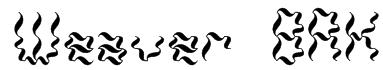 Weaver BRK Font