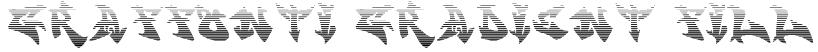 graffonti.gradient.fill Font