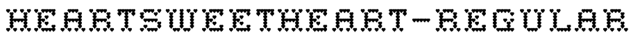 HeartSweetHeart-Regular Font