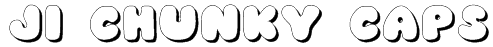 JI Chunky Caps Font