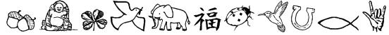 CharmingSymbols Font