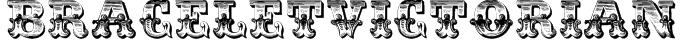 BraceletVictorian Font