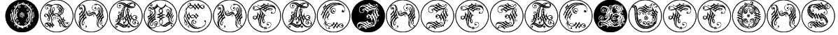 OrnamentalInitialButtons Font