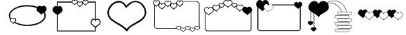 ap_hearts Font