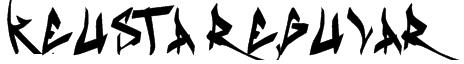 Keusta Regular Font