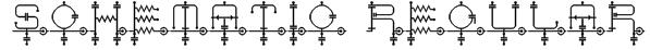 schematic Regular Font