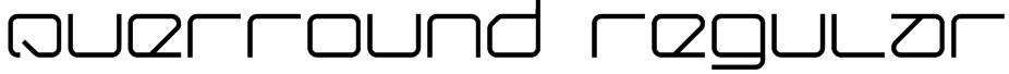 Querround Regular Font