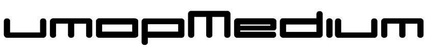 umopMedium Font