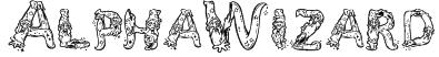 AlphaWizard Font