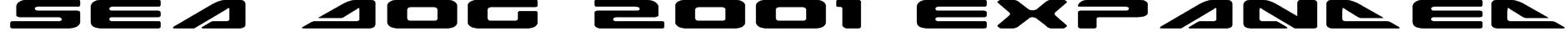 Sea Dog 2001 Expanded Font