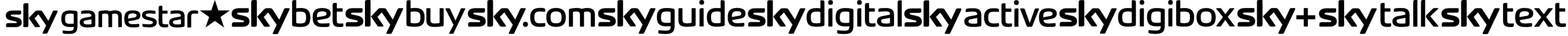 SKYfontbrands Font