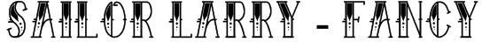 Sailor Larry - Fancy Font