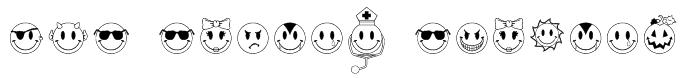 JLS Smiles Sampler Font