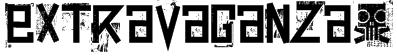 extravaganza- Font