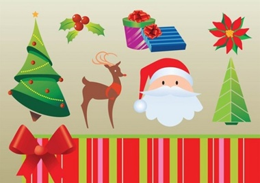 creative,design,download,graphic,illustrator,new,original,pack,santa,tree,vector,web,christmas,gifts,deer,unique,vectors,xmas,quality,stylish,fresh,high quality vector