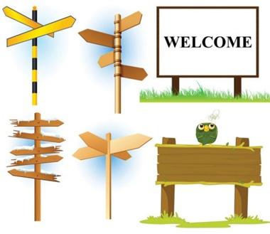arrow,board,clean,photoshop,psd,twitter,vector,simple,owl,vectors,resources,signs,boards,billboards,bulletin,country side,signposts vector